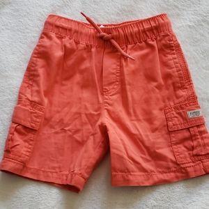 NWOT - Osh Kosh B'Gosh Boys Coral Cargo Shorts